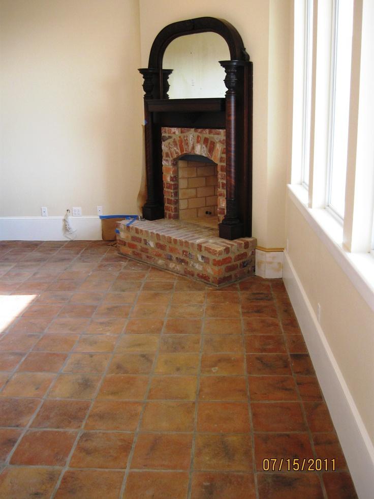 17 best images about antique terracotta tile on pinterest for 12x12 mexican floor tile
