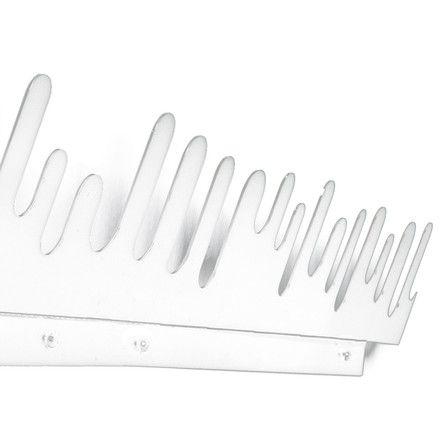 Design House Stockholm - Wave Hanger Garderobe, weiß, 2er-Set Weiß T:0 H:20 B:45 Jetzt bestellen unter: http://www.woonio.de/produkt/design-house-stockholm-wave-hanger-garderobe-weiss-2er-set-weiss-t0-h20-b45/