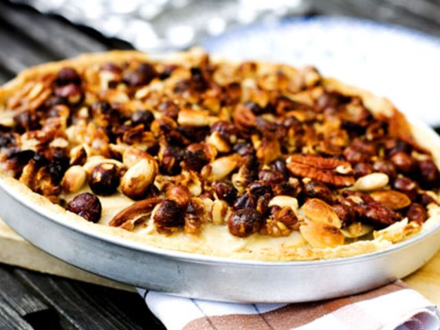 Äppelpaj med nötfyllning (kock Monika Ahlberg)