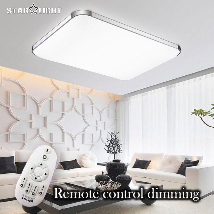 Gross LED Deckenleuchte Deckenlampe Wohnzimmer Leuchte Dimmbar Fernbedienung In Mbel Wohnen Beleuchtung Deckenlampen Kronleuchter