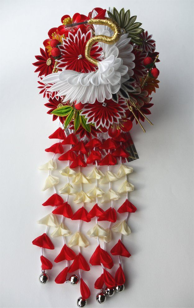 Flower with crane. イメージ 1