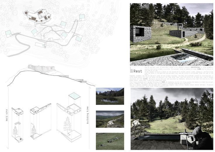 THIRD PRIZE - ID Team: 10034 - VITIA (Marco Testi, Sergio Vedovelli)  - Italy - More info on: http://www.marlegno.it/castle-resort