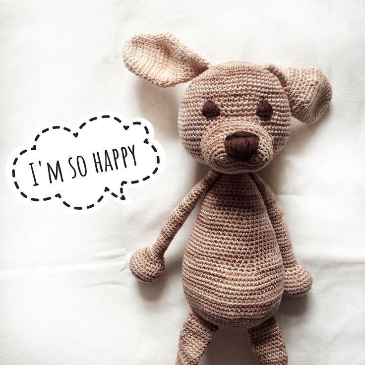 Little dog crochet