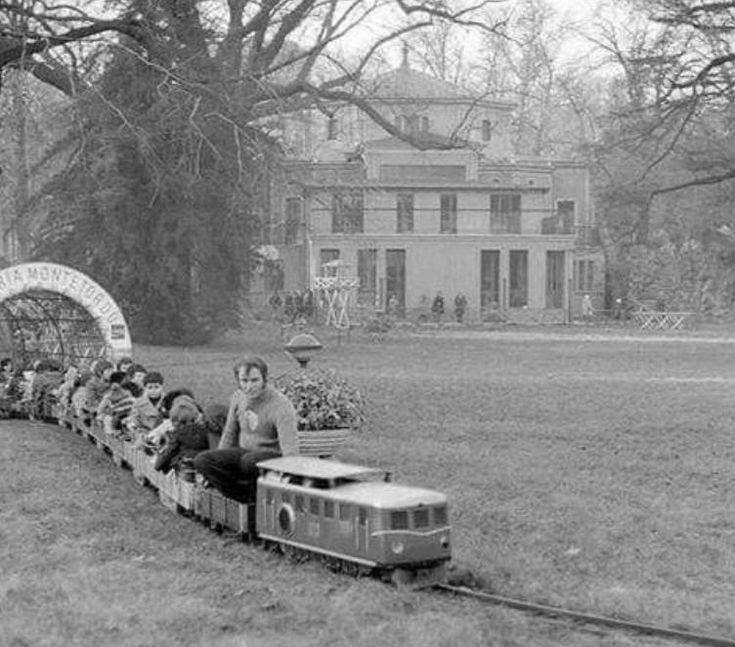 Il trenino ai Giardini Pubblici di Porta Venezia, anni 70