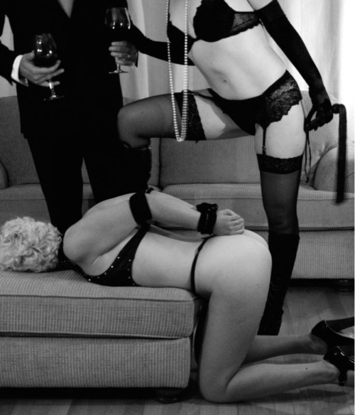 Tied up..