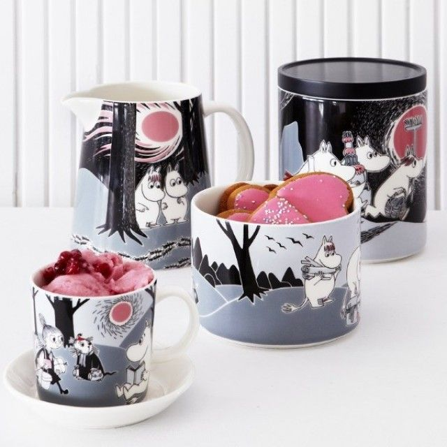 How adorable would a mug cake looked served up in one of the Iittala Arabia Moomin Mugs? We have the entire range available for you today!