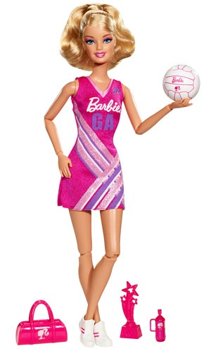 What do you think of the NEW Barbie I Can Be Netball Star?