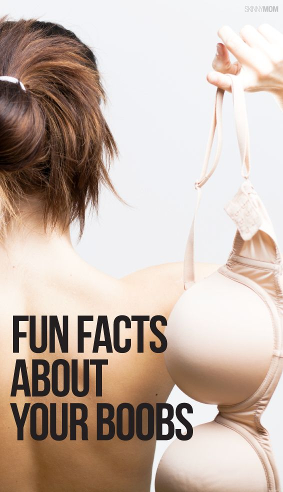 10 facts you didn't know about your boobs!