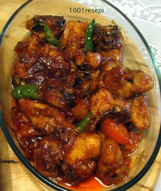 Ingredients 1 kg chicken, cut into small pieces 3 tbs chilli paste 1 tsp shrimp paste granules (belacan) 3 - 5 tablespoon tomato sauce (ke...