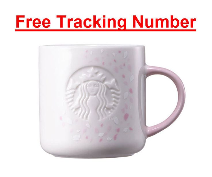 Korea Starbucks 2017 Cherry Blossom Pink Mug 355ml + Free Tracking number #Starbucks