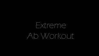 healthninja:  fitnessgifs4u:  Extreme Ab Workout…CharlieJames1975 YouTube  Just did this and hell it burned!!!