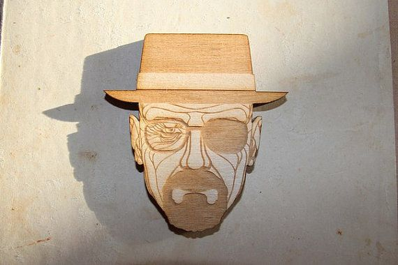 magnet Heisenberg Breaking bad от WorkshopLastochka на Etsy