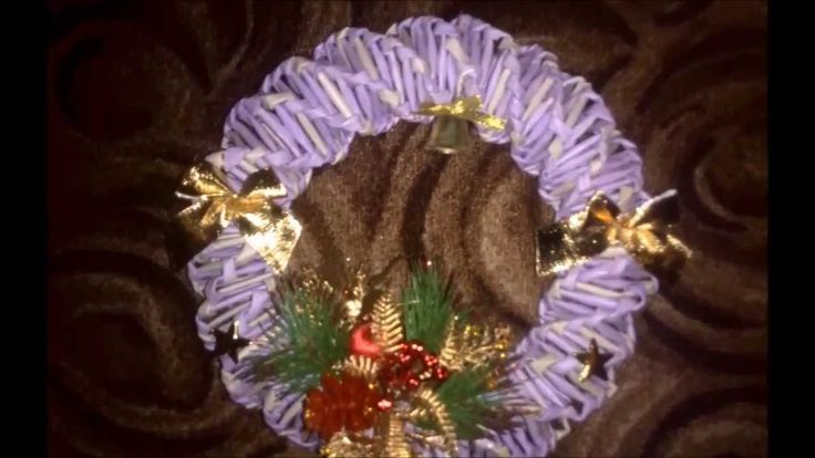 Pletení z papíru #2 - Věnečky