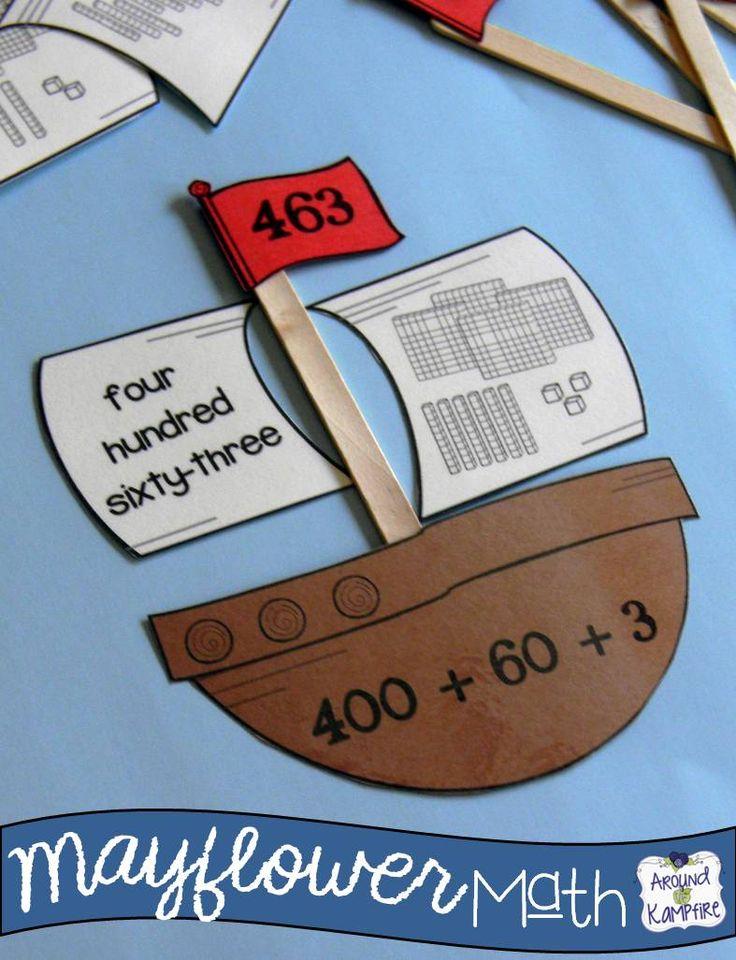 Thanksgiving Math Activities Games And Mayflower Math
