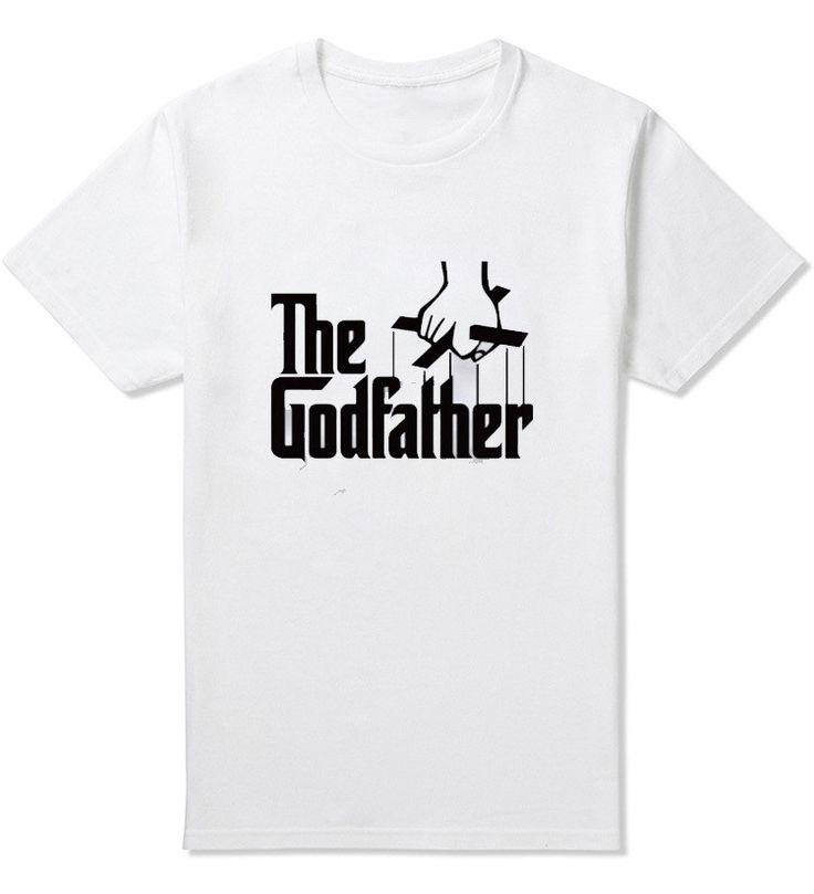 Famous Movie The Godfather Men T Shirt Shor