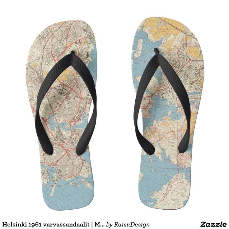 Helsinki 1961 varvassandaalit | Map Flip Flops