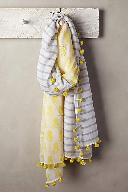 Coastal Hills Scarf - anthropologie.com