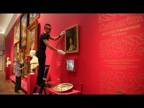 "Museuminrichting: ""Catharina de Grootste"" - Hermitage Amsterdam"