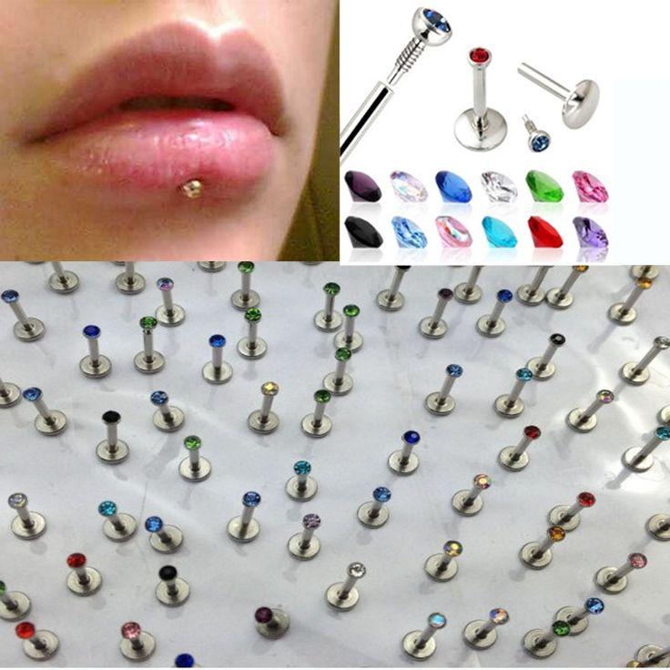 10-unids-lote-hombres-mujeres-colorido-acero-inoxidable-Labret-labio-Piercing-oreja-pendiente-del-perno-prisionero.jpg (900×900)