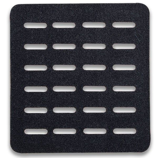 Tactigami MOLLE Adapter Panel-Quad, Black