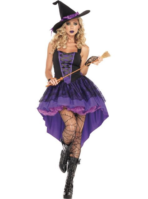 Adult Broomstick Babe Witch Costume - Party City