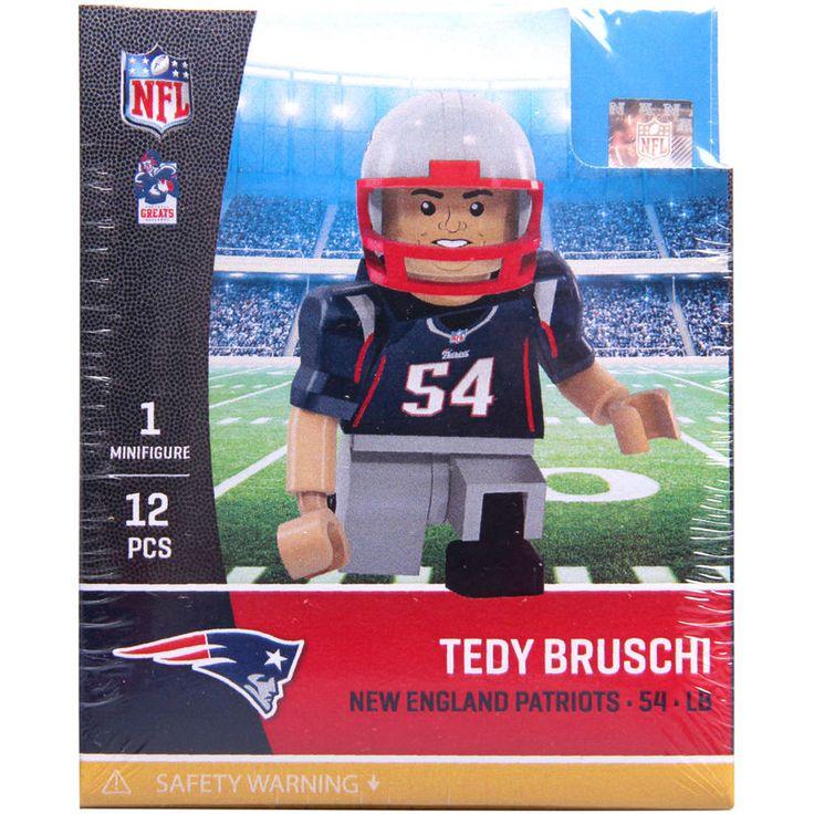 Tedy Bruschi New England Patriots OYO Sports Legends Minifigure