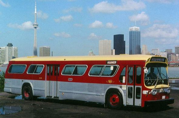 Vintage TTC Buses Toronto