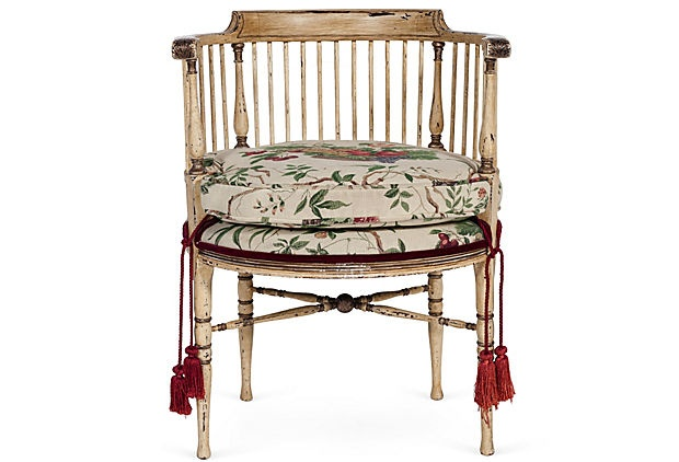 Round-Back Spindle Chair on OneKingsLane.com