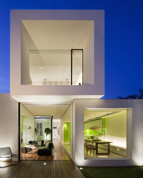Découvrez la maison en cube australienne de décoration qui rappelle des extérieurs magnifiques et de style épurée vous serez conquis par ses espaces