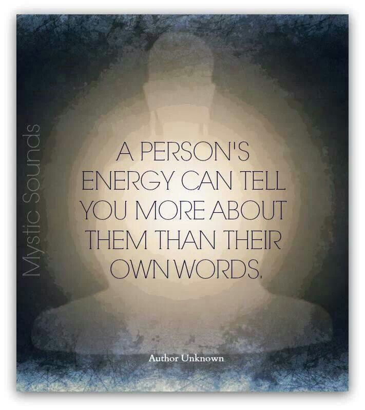 A person's energy can tell you more about them than their own words. Quantum…