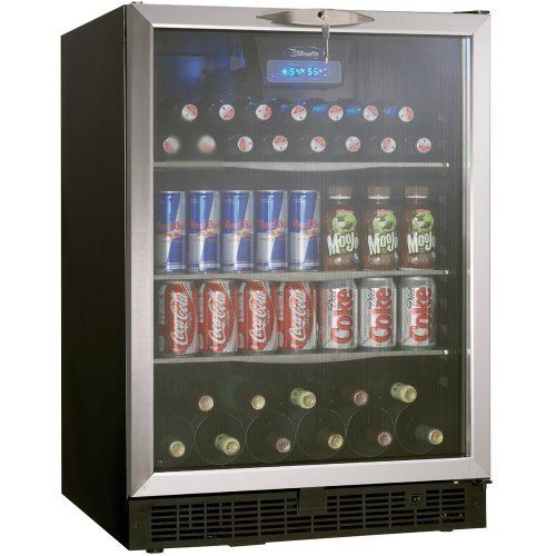 The Danby DBC514BLS 5.3 Cu. Ft. Silhouette Beverage Center is a stylishly superior alternative to the compact fridge. The generous interior will accommodate 112 beverage cans and 11 bottles of wine. Or use it to refrigerate cheese trays, fruit platters or other hors d'oeuvres until your... - http://kitchen-dining.bestselleroutlet.net/product-review-for-danby-dbc514bls-5-3-cu-ft-silhouette-beverage-center-blackstainless/