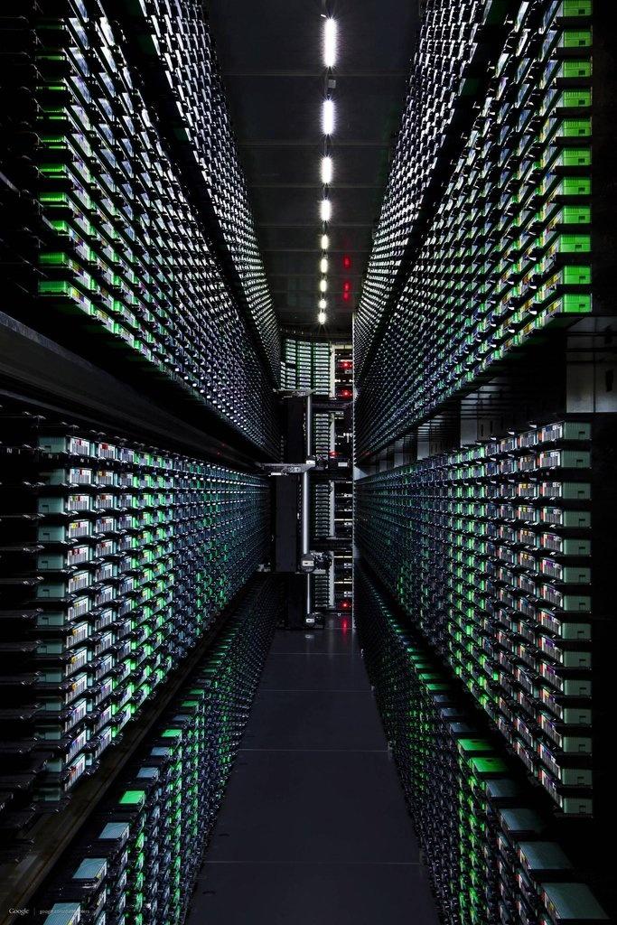 Google Datacenter Wallpapers Futuristic technology, Data