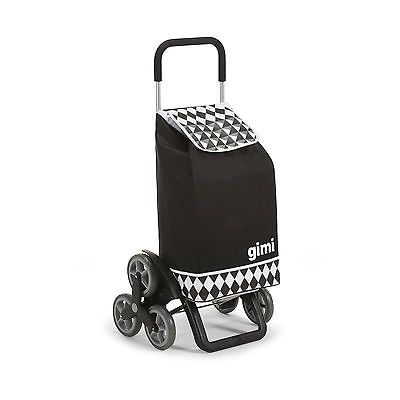 Einkaufstrolley Treppensteiger Tris Optical Schwarz Einkaufswagen Einkaufsroller