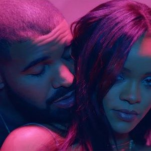 """Rihanna And Drake Release TWO Music Videos For """"Work"""" #drake #rihanna #videoclip #work #musicians #elleau"""
