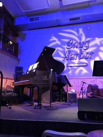 Snug Harbor Jazz Bistro, ranked No.9 on TripAdvisor among 47 attractions in New Orleans.