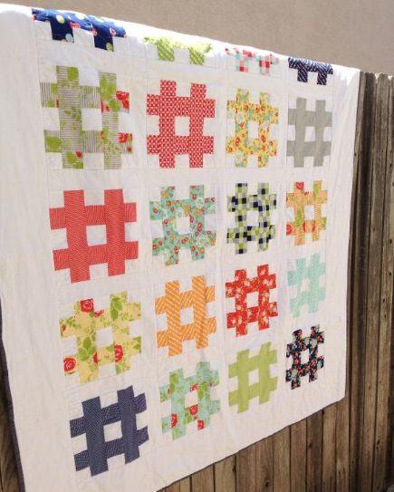 Nine Strip Quilt Patterns to Bust Your Stash! Get 'Em Here on Craftsy