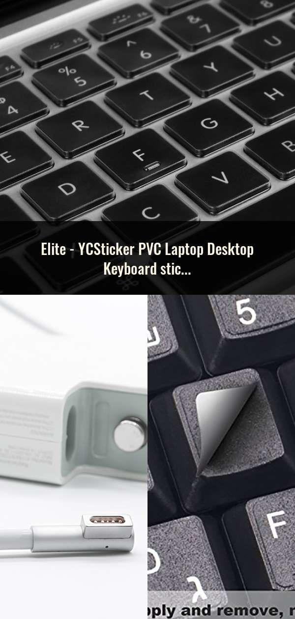 YCSticker PVC Laptop Desktop Keyboard sticker Spain/English