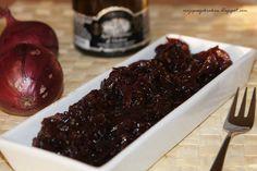 Konfitura z czerwonej cebuli jako dodatek do mięs