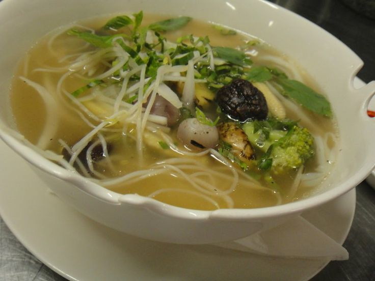 Vegetarian & Vegan Pho noodle soup recipe -- It's also ...