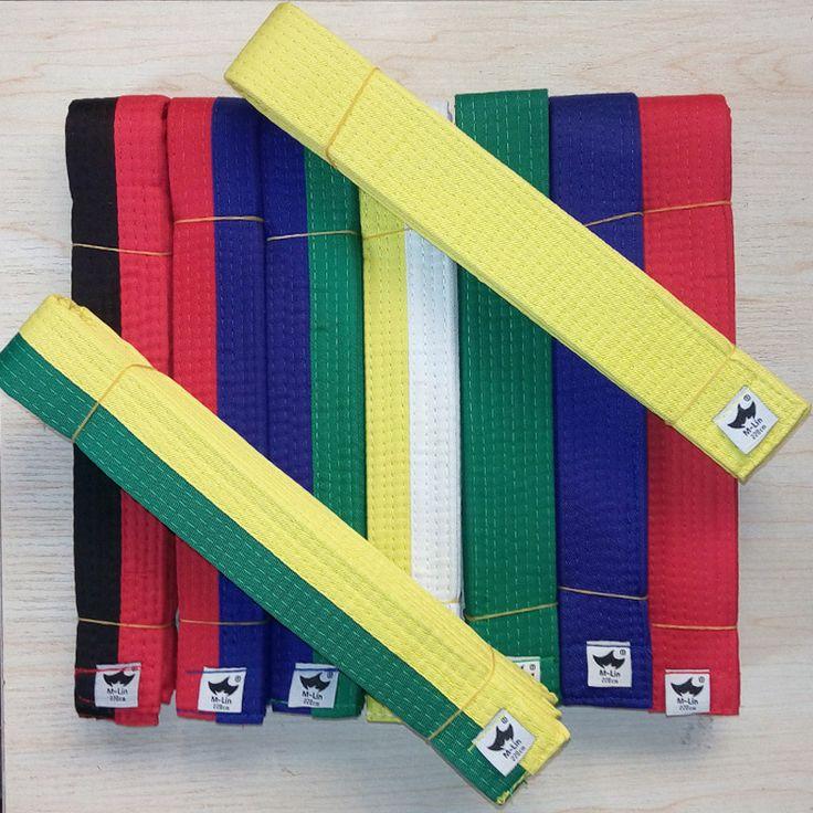 Tae kwon do Belts Martial Arts Karate Judo Standard Taekwondo Professional Belts Taekwondo dobok Tapes Road Protective Waistband #Affiliate