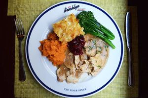 Thanksgiving at Brooklyn Diner in NYC