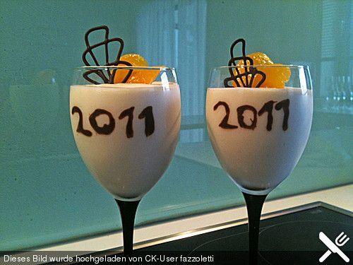Champagner - Dessert, ein sehr schönes Rezept aus der Kategorie Cremes. Bewertungen: 20. Durchschnitt: Ø 4,3.