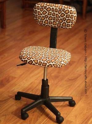 Reupholstered OfficeChair