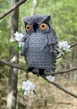 Amazing Crochet Owl - free crochet pattern