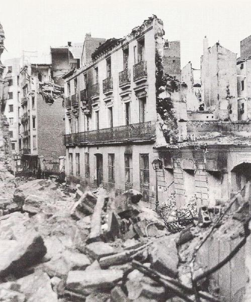 old Madrid. Civil War photos
