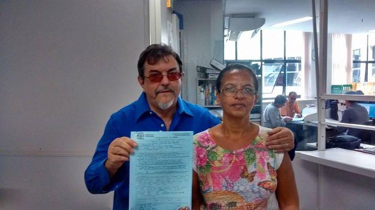 """13/5/2015 - Nelson Douglas, último Auto de Infração, """"protocolado pela colega Matilde"""""""