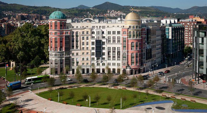 Edificio artklass robert krier arquitectura clasica europea bilbao pa s vasco vasca - Arquitectura pais vasco ...