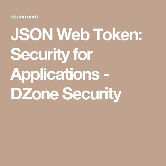 dzone security