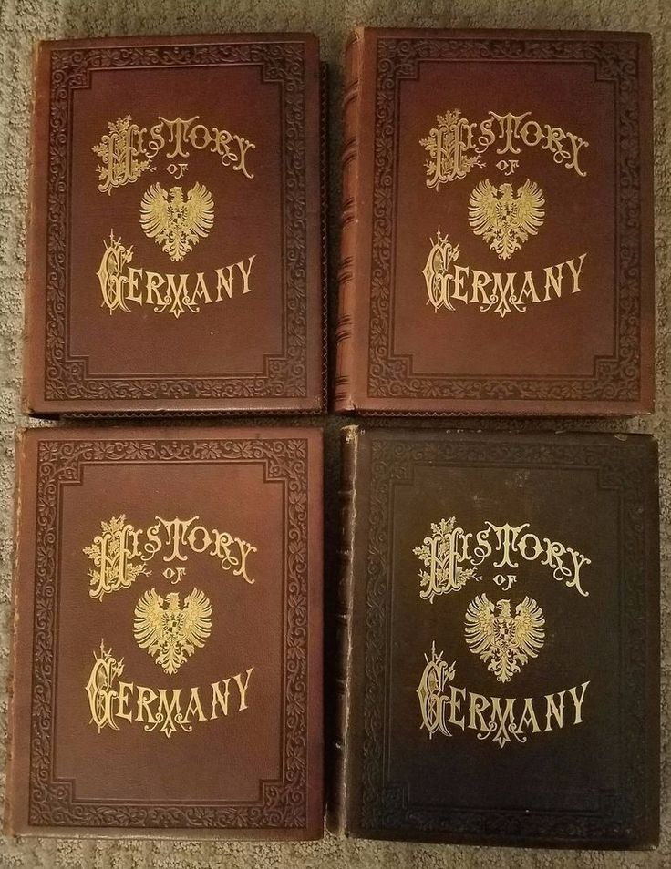 History Of Germany Dr. Zimmermann German Illustrated 1878 Price Reduced 4vols   Books, Antiquarian & Collectible   eBay!
