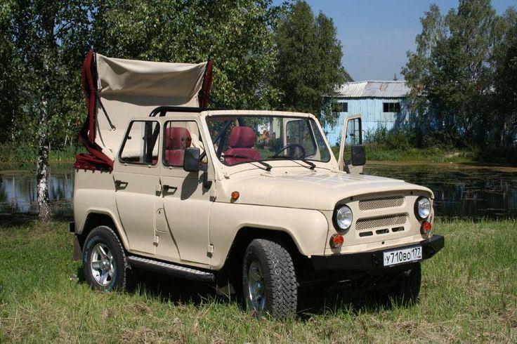 Примеры работ УАЗ-МАДИ: Четырехдверный УАЗ кабриолет